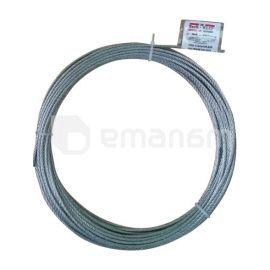 ტროსი ფოლადის Tech-Krep DIN 3055 5 მმ 20 მ