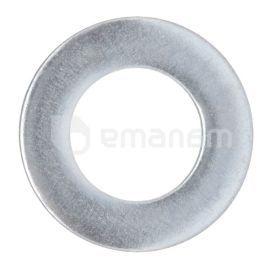 საყელური ბრტყელი მოთუთიებული Tech-Krep DIN125A M12 50 ც